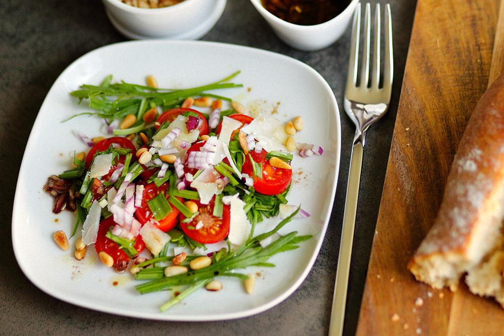 Hirschhorn-Wegerich Salat