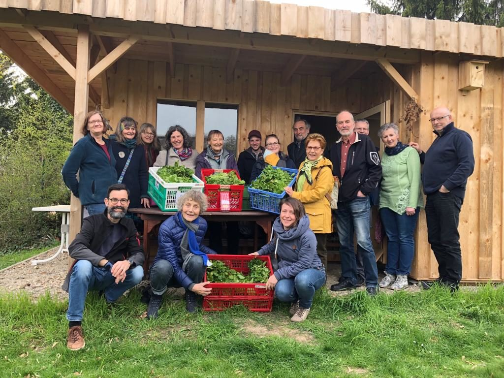 Gruppenbild Abbholstation WF-Ulmenweg 2019